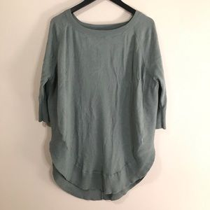 Express Oversized 3/4 Sleeve Sweater